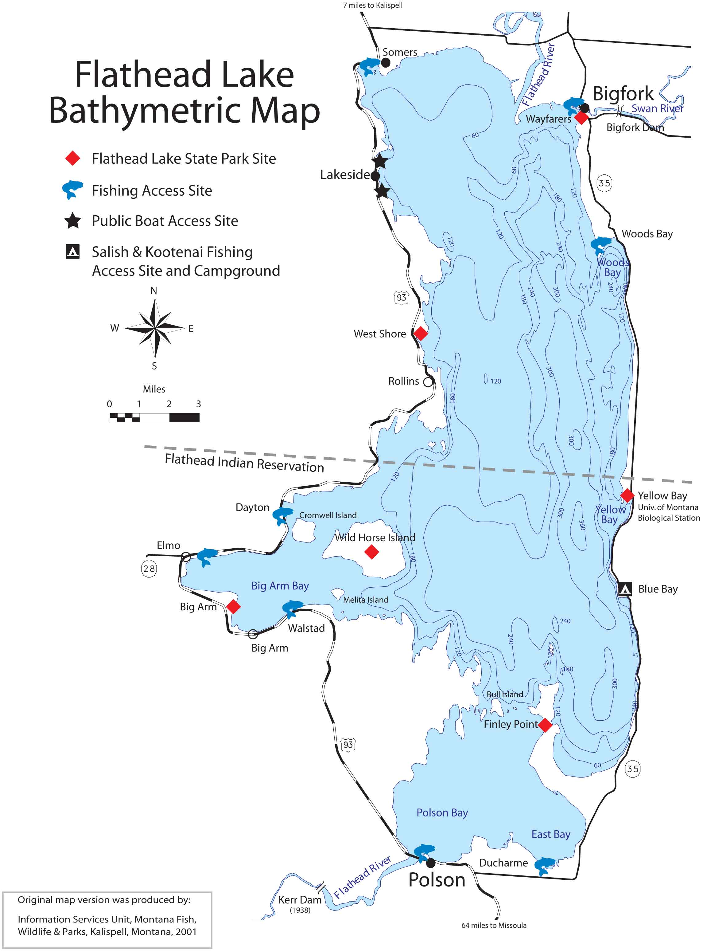 Swan Lake Montana Map.Maps And Access Sites