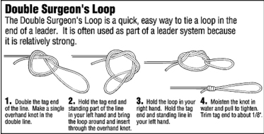 Pdf fishing knot